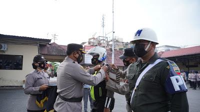 76 Personel Polres Tebingtinggi Dikerahkan dalam Ops Keselamatan Toba 2021