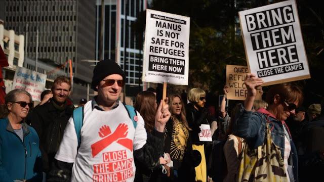 Australianos piden fin de política migratoria del Gobierno