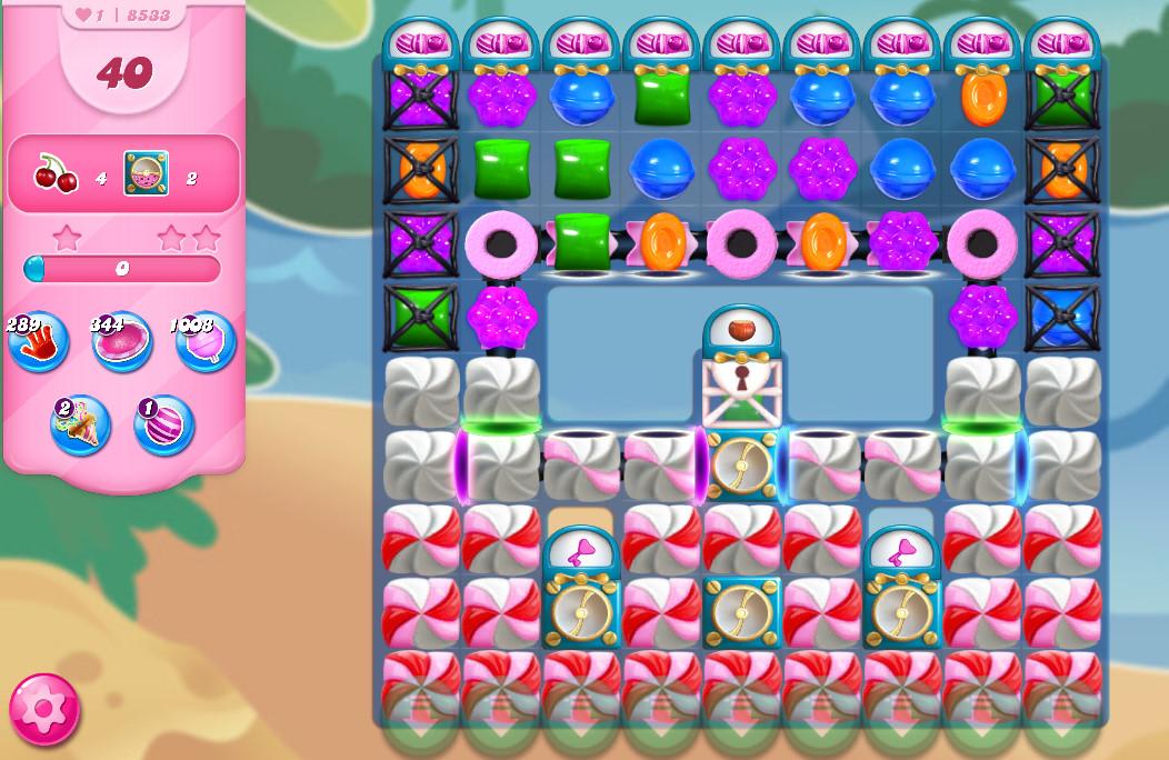 Candy Crush Saga level 8533
