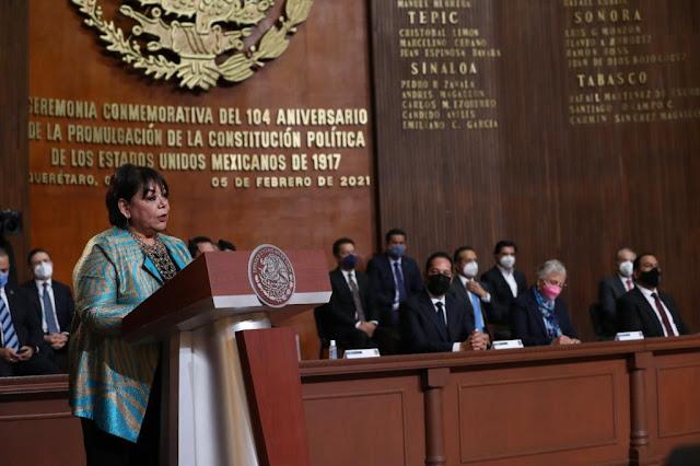 Más allá de visiones particulares, el poder público debe ceñir su actuación a la Constitución: diputada Garay Cadena