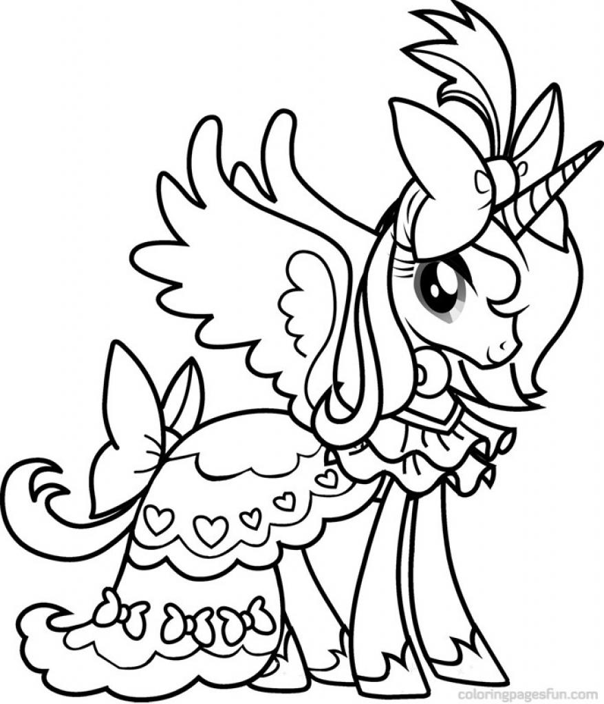 Mewarnai Little Pony Pdf Q Warna