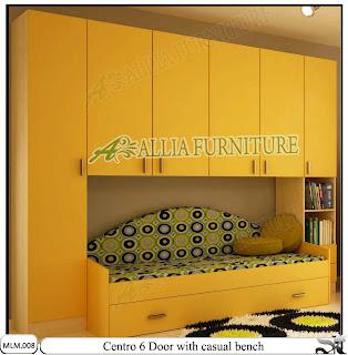 Lemari Minimalis Modern dan Sofa Centro