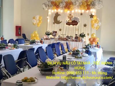 Nấu cỗ sinh nhật tại Tân Mai - Đặt cỗ tại nhà ở Hoàng Mai