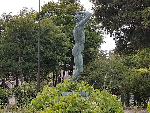 L'âge d'airain de G.Rodin