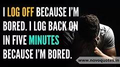 Boring Life Status Facebook