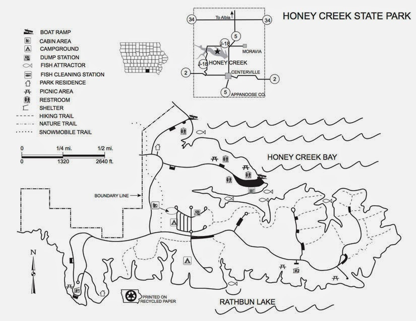 Camping the unknown: Honey Creek State Park