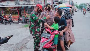 Kapolsek Bojongsoang Polresta Bandung, Imbau 3M Pada Penertiban Pasar Tumpah GBA