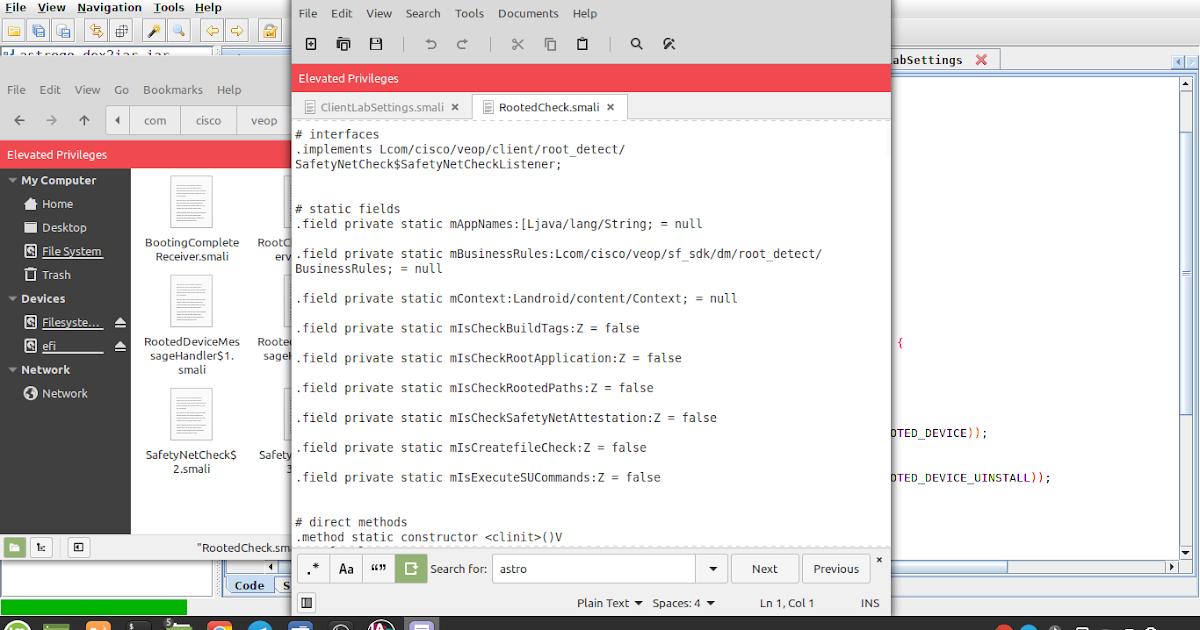 App Mod Yang Pertama Untuk Hilangkan Root Detection Astro Go