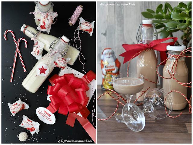 Raffaello-Likör vs. Kinderschokoladen-Likör | Rezept | Weihnachten | Geschenke aus der Küche