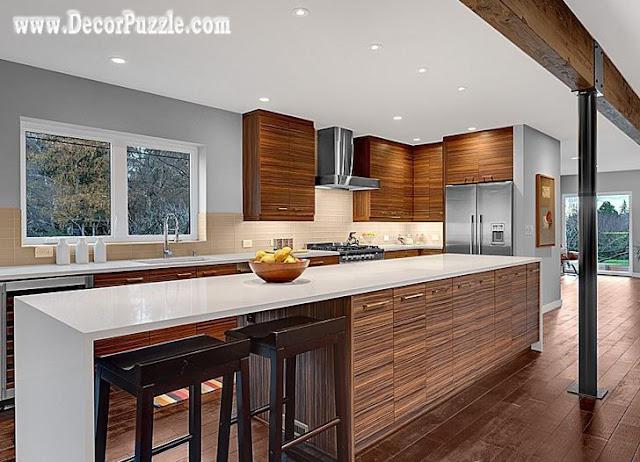mid century modern kitchen cabinets, mid-century modern kitchen