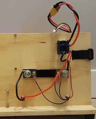 QuadCopter Test Bench - Back Wiring