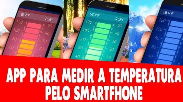 Como medir a temperatura pelo celular!
