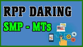 RPP Daring Bahasa Asing SMP-MTs Kurikulum 2013 Revisi 2020