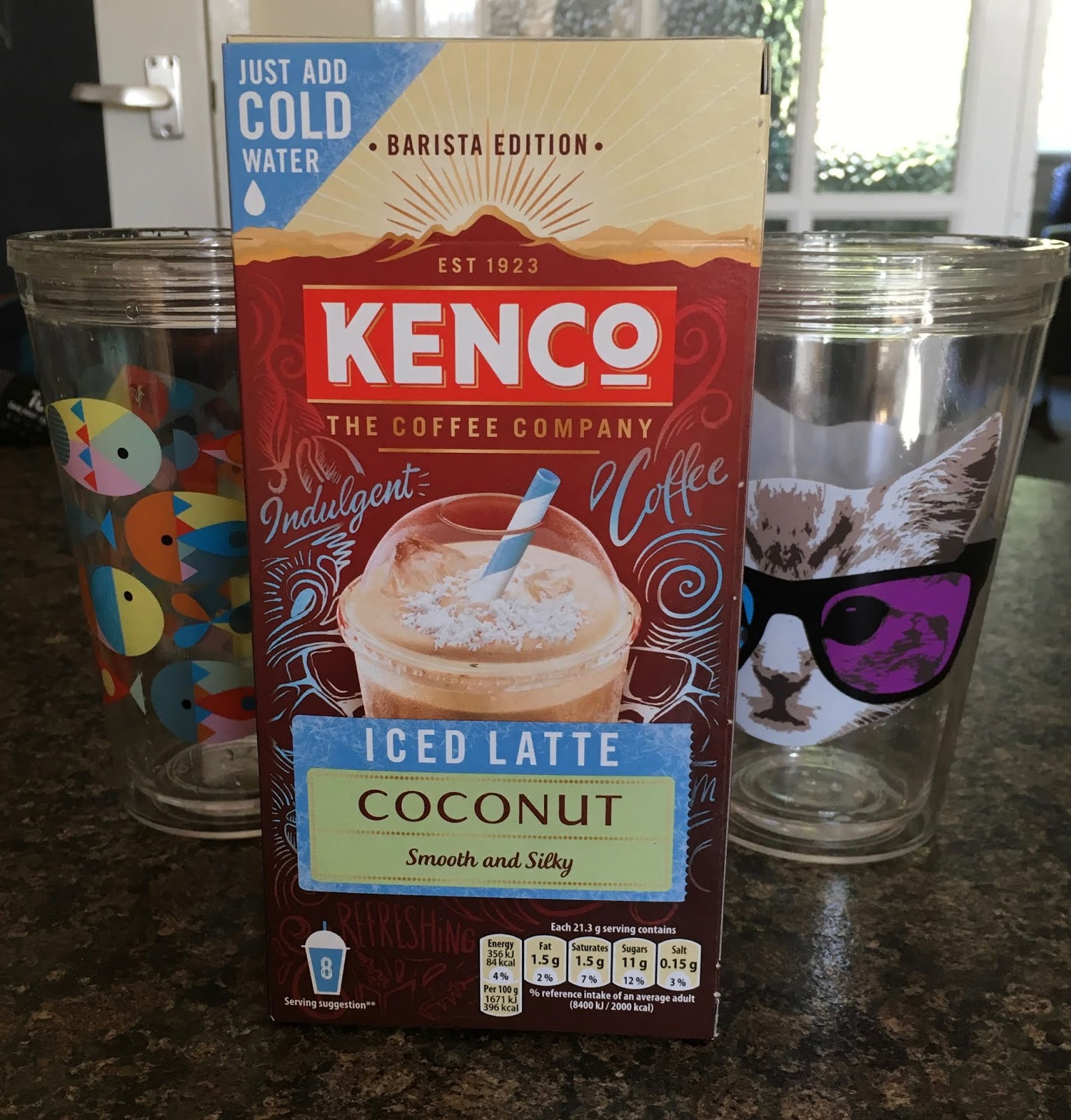 Foodstuff Finds Kenco Iced Latte Coconut Edition
