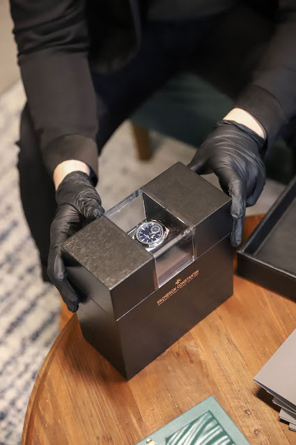 Leo Chan Vacheron Constantin: Watchfinder & Co NYC Luxury Watch Showroom