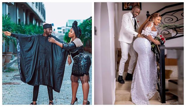 I pray for him more than I pray for myself – Anita Joseph gushes on her husband, MC Fish