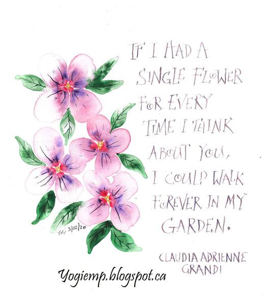 http://www.yogiemp.com/Calligraphy/Artwork/IfIHadAFlower.html