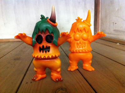 """Ugly Pump-corn"" Ugly Unicorn Vinyl Figures by Rampage Toys"