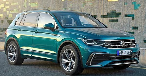 Burlappcar: 2021 VW Tiguan