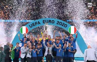Italia foto finale campione d'Europa 11 luglio
