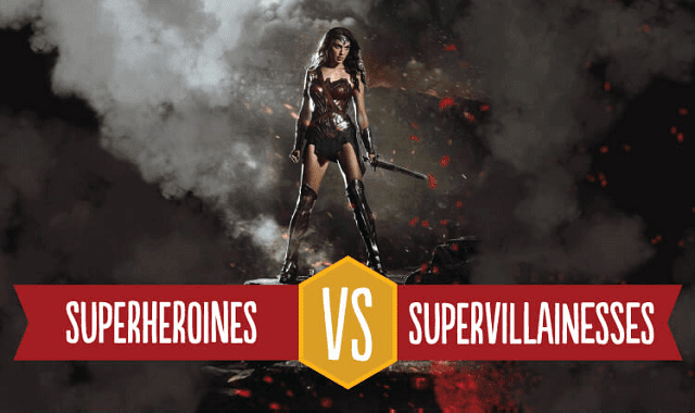 Superheroines vs Supervillainesses: The Women of the DC Universe