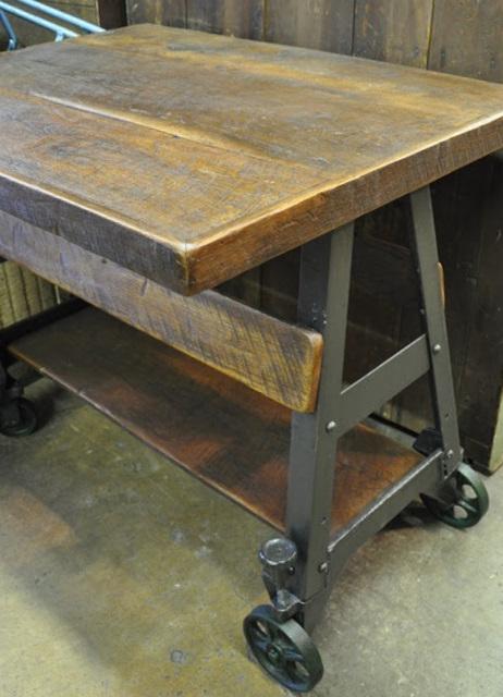 Oklahoma Barn Market Custom Upcycled Welding Table