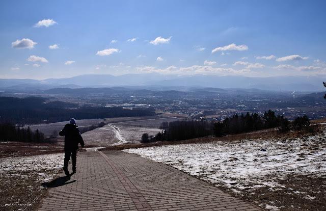 Szybowcowa Góra-widok na Jelenią Górę.