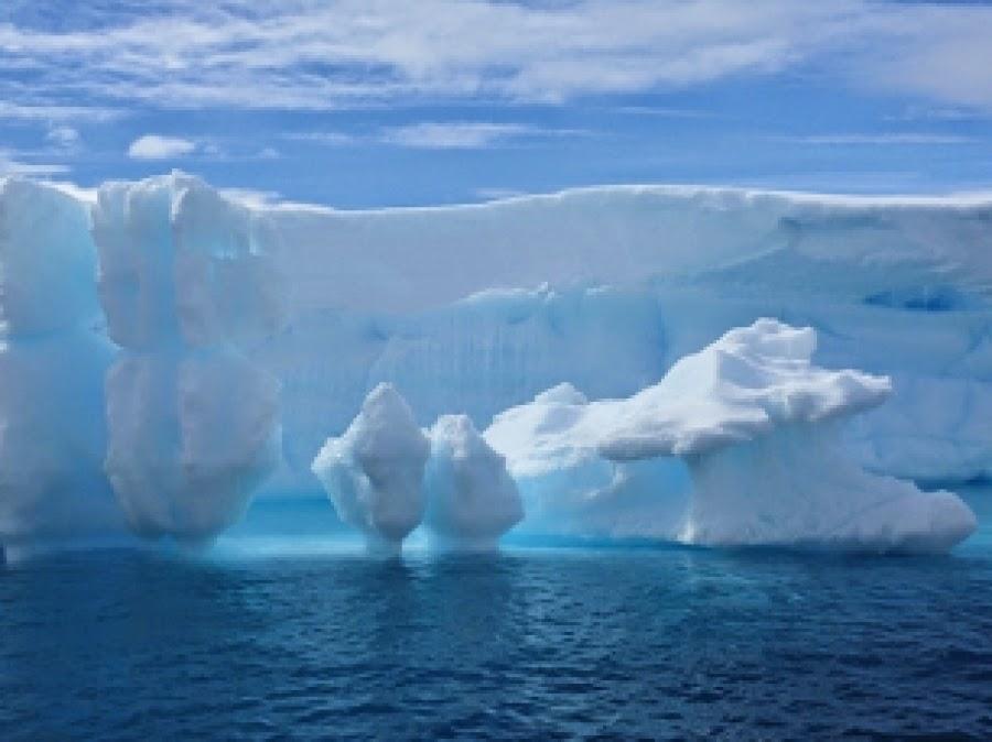 Volcanes ocultos derriten los glaciares de la Antártida