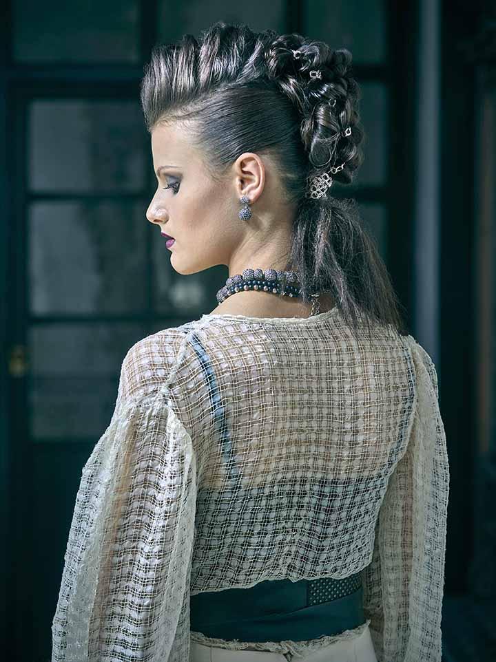 peinado recogido de novia 2020