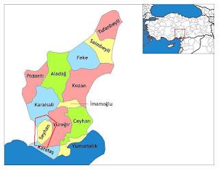 seyhan ilçesi haritası ile ilgili görsel sonucu