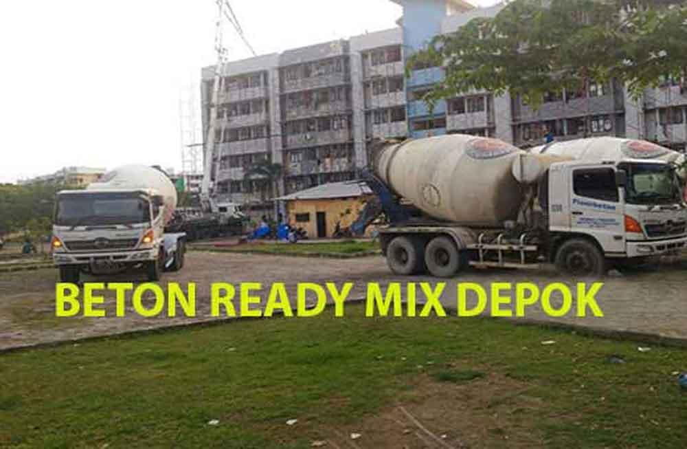 Harga Beton Cor Ready Mix Depok Per m3 Terbaru 2020