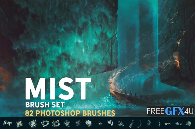 Mist Photoshop Brush Pack