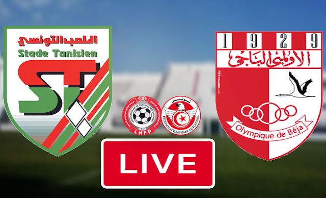 Live Streaming Match Stade Tunisien vs Olympique Beja
