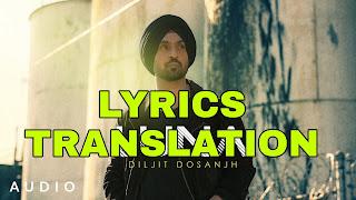 Luna Lyrics Meaning in Hindi (हिंदी) – Diljit Dosanjh