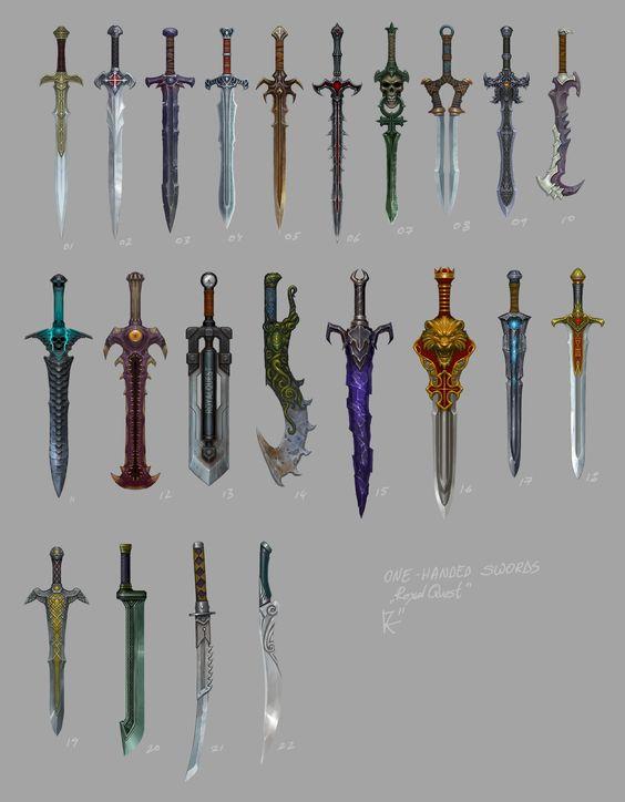 Referensi Gambar Pedang Super KEREN!!
