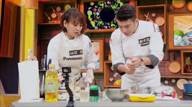 乾杯集團料理長劉偉忠親自下廚指導選手