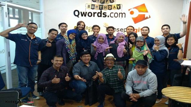 Selebration Ulang Tahun Ke-12 Qwords di Bandung
