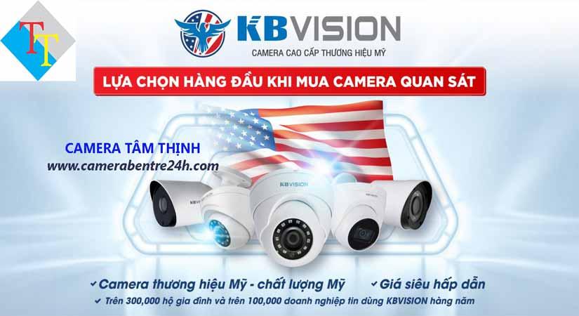 Đại lý camera kbvision tại Bình Đại bến tre