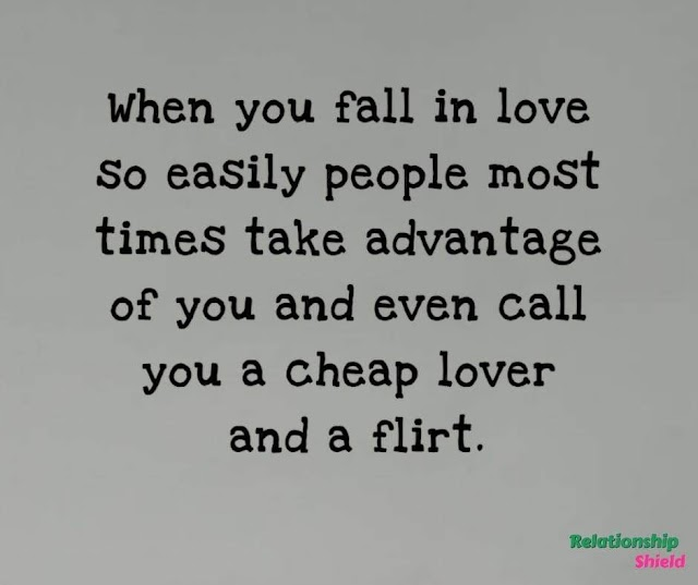 How To Stop Falling In Love Easily And The Implication Afterwards