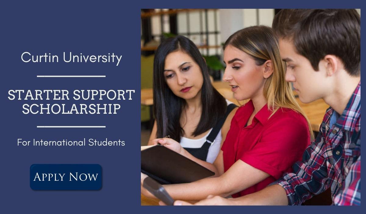 Curtin University Starter Support International Scholarships in Australia