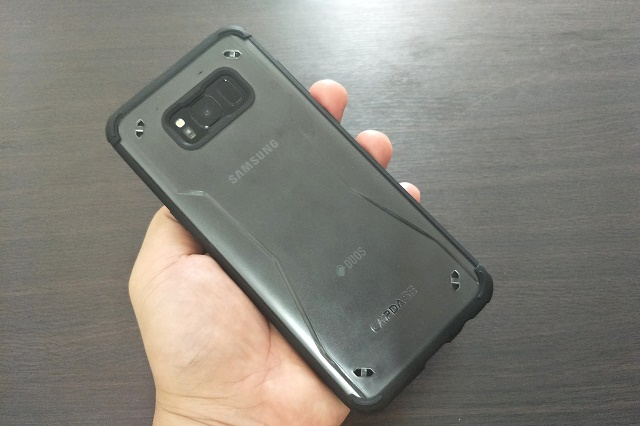 huge selection of 8bb36 ebced Capdase Fuze II Case for Samsung Galaxy S8/S8+ Review | Pinoy Metro Geek