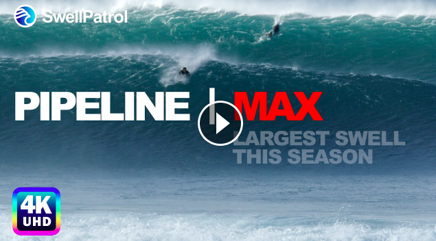 PIPELINE MAX Largest Pipeline Swell this season with Mikey Wright Nathan Florence Kao Rothman