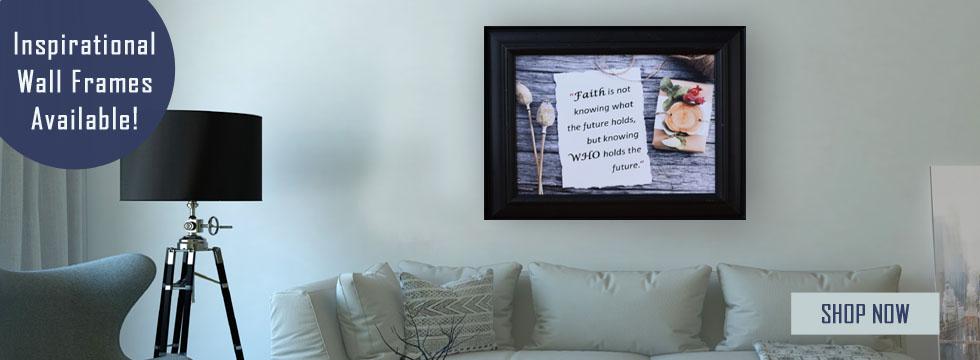 Inspirational Wall Frames