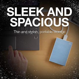 Seagate Backup Plus Slim 2TB External Hard Drive Portable HDD