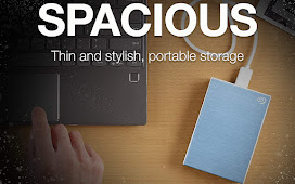 Seagate Backup Plus Slim 2TB External Hard Drive Portable HDD