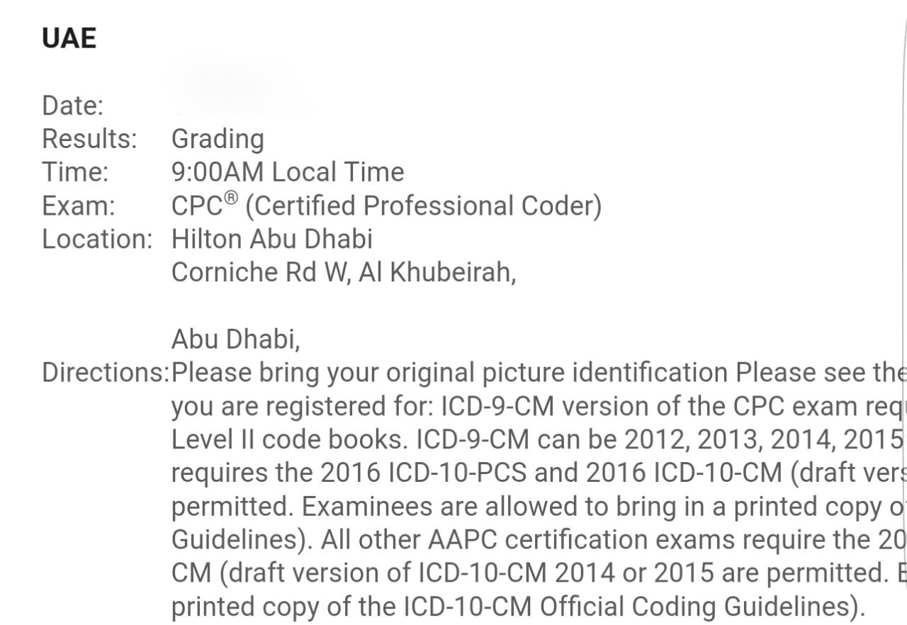 CaleenHub: Tips On How To Pass AAPC CPC (Certified