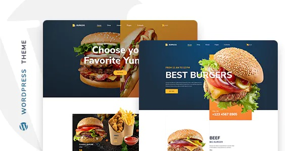 Best Street Food WordPress Theme