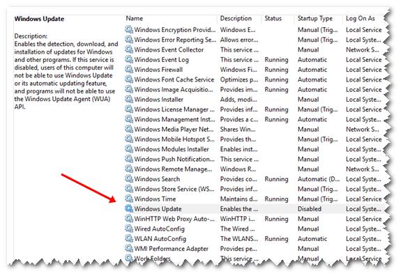 Windows Update Off Tool