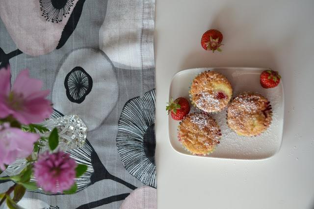 mansikkamuffinit gluteeniton