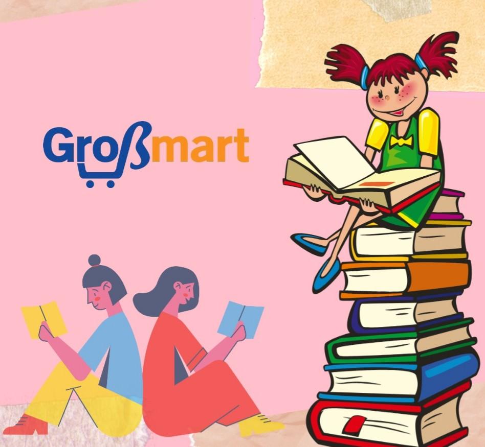 Beli buku di Grobmart ajah